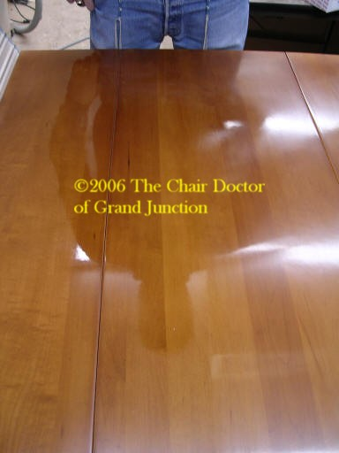 Finishing And Refinishing With The Chair Doctor